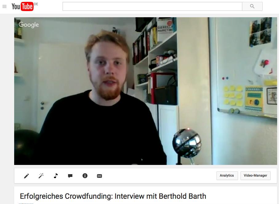 Video: Erfolgreiches Crowdfunding funktioniert wie ein Dammbruch