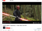 Wenn Star-Wars-Fans ihre Leidenschaft leben: DARTH Maul wird zum YouTube Hit