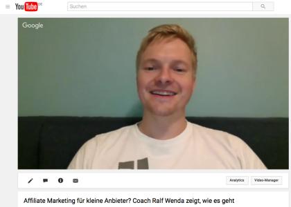 Video: Digitale Produkte verkaufen? Ralf R. Wenda zeigt, wie wir alle das können – mit Partnerprogrammen