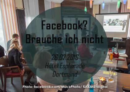 """KMU Digital """"Die Berater"""" – Facebook? Brauche ich nicht."""