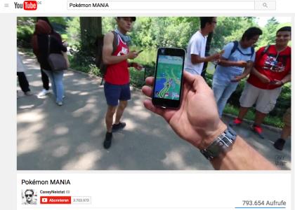 Mit PokemonGo zum Weltfrieden? Auf jeden Fall wünsche ich uns viele junge Menschen