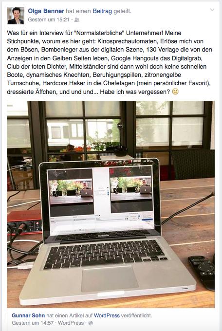 90 Minuten #Video-Interview mit Dennis Arntjen und Eva Ihnenfeldt über Chefetagen und ein Digitalgrab..