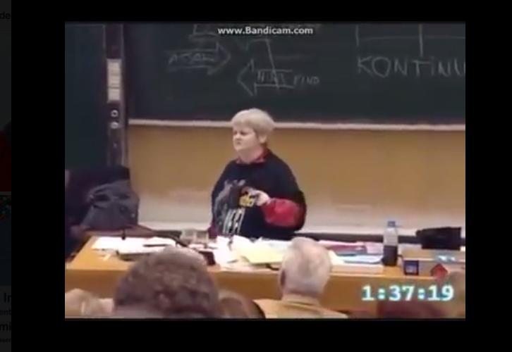 Vera F. Birkenbihl Video: Sich 60 Sekunden zum Grinsen zwingen wirkt Wunder!