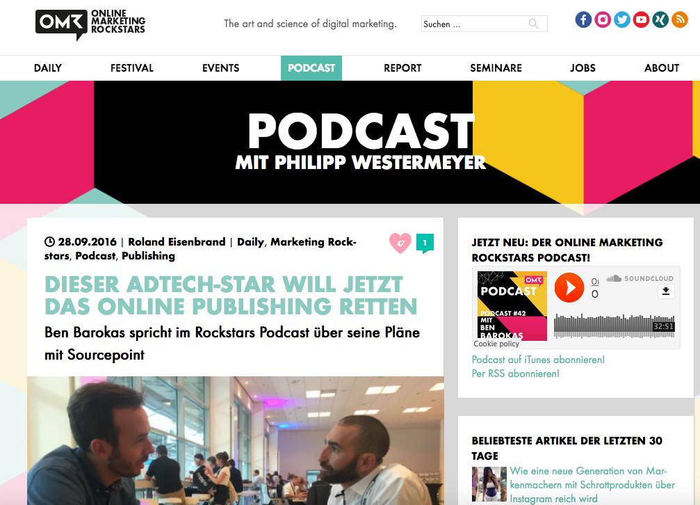 Podcast-Empfehlungen von Eva Ihnenfeldt: 1. Online-Marketing-Rockstars