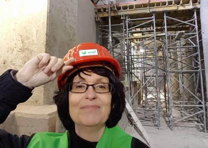 Mit Sylvia Uehlendahl in den Tunnel: Erweiterung der Stadtbahnanlage Hauptbahnhof