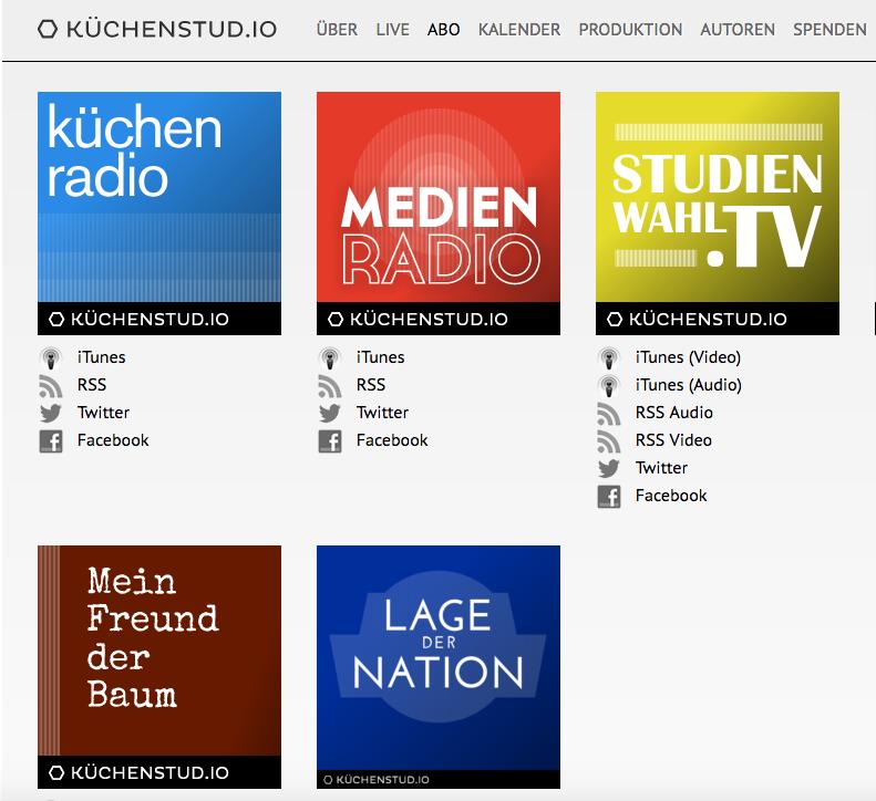 Podcast-Empfehlung von Eva Ihnenfeldt: Lage der Nation und kuechenstud.io