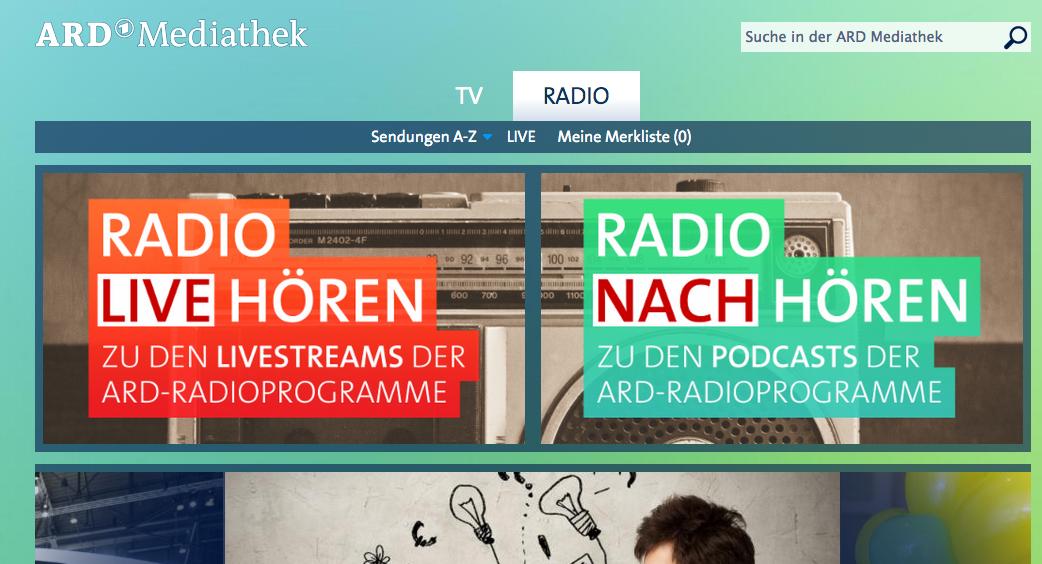 Podcast-Empfehlungen von Eva Ihnenfeldt: Rundfunk- und TV-Podcasts