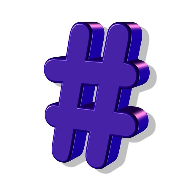 """Was sind eigentlich """"Hashtags""""? Und wie kann ich sie im Social Media Marketing sinnvoll einsetzen?"""