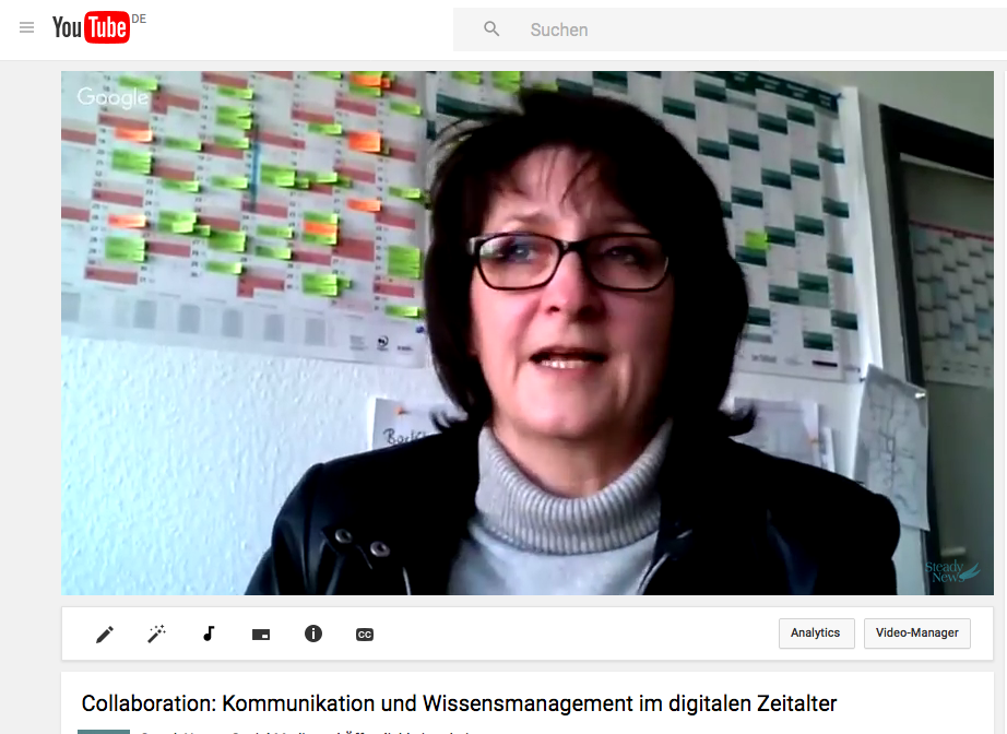 Video-Interview mit Inge Hanel: Collaboration Tools – eine wirkliche Erleichterung für Teams