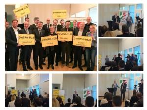 Eröffnung der Digital Hubs in NRW