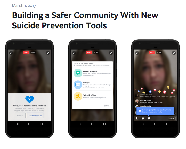 Facebook will mit Künstlicher Intelligenz Selbstmord-Gefährdete identifizieren