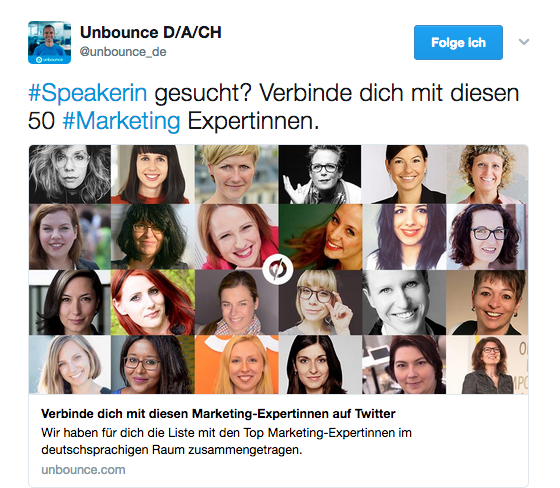 Wem folge ich bei Twitter? Top 50 Liste einflussreicher Online-Marketing Experten – und Expertinnen