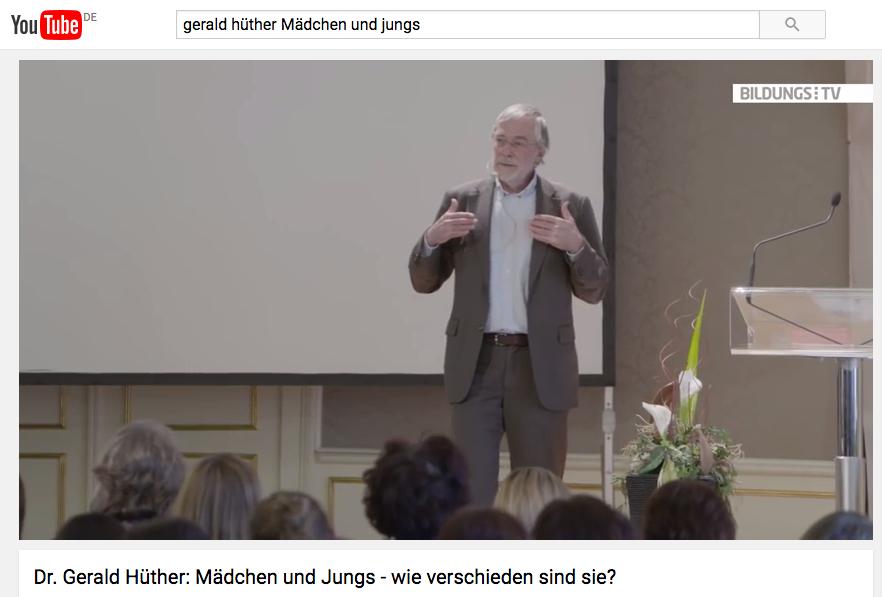 """Dr. Gerald Hüther über Männer und Frauen: Erklären Initiativen wie der """"Girls Day"""" Mädchen zu Objekten?"""