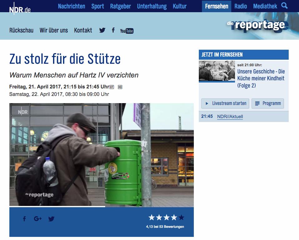 http://www.ndr.de/fernsehen/sendungen/die_reportage/Warum-Menschen-auf-Hartz-4-verzichten,sendung631452.html