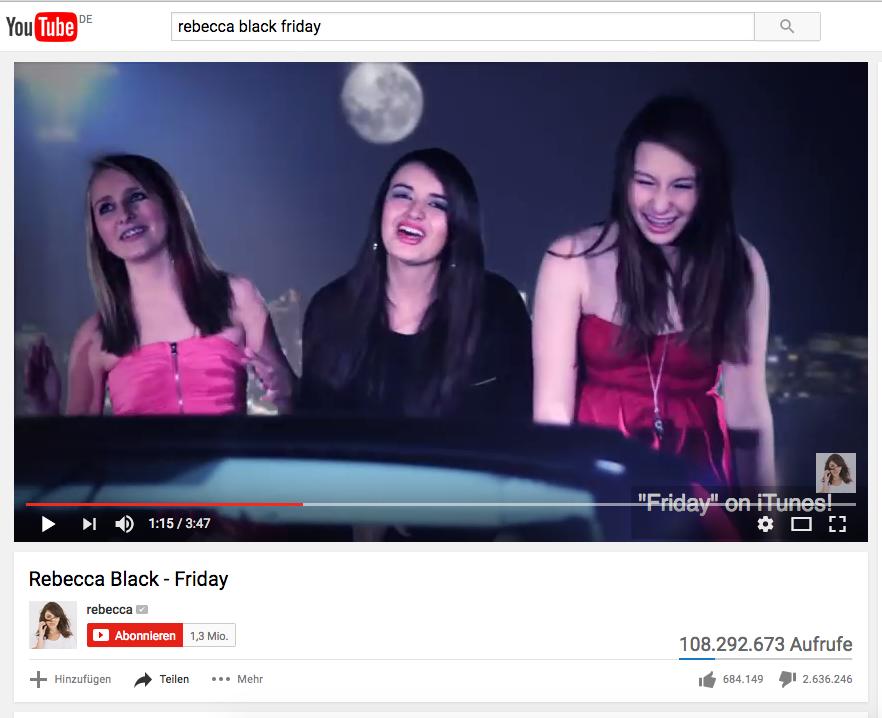 Bibis YouTube-Song: Nach 10 Tagen schon auf Platz 5 der weltweit meisten Dislikes