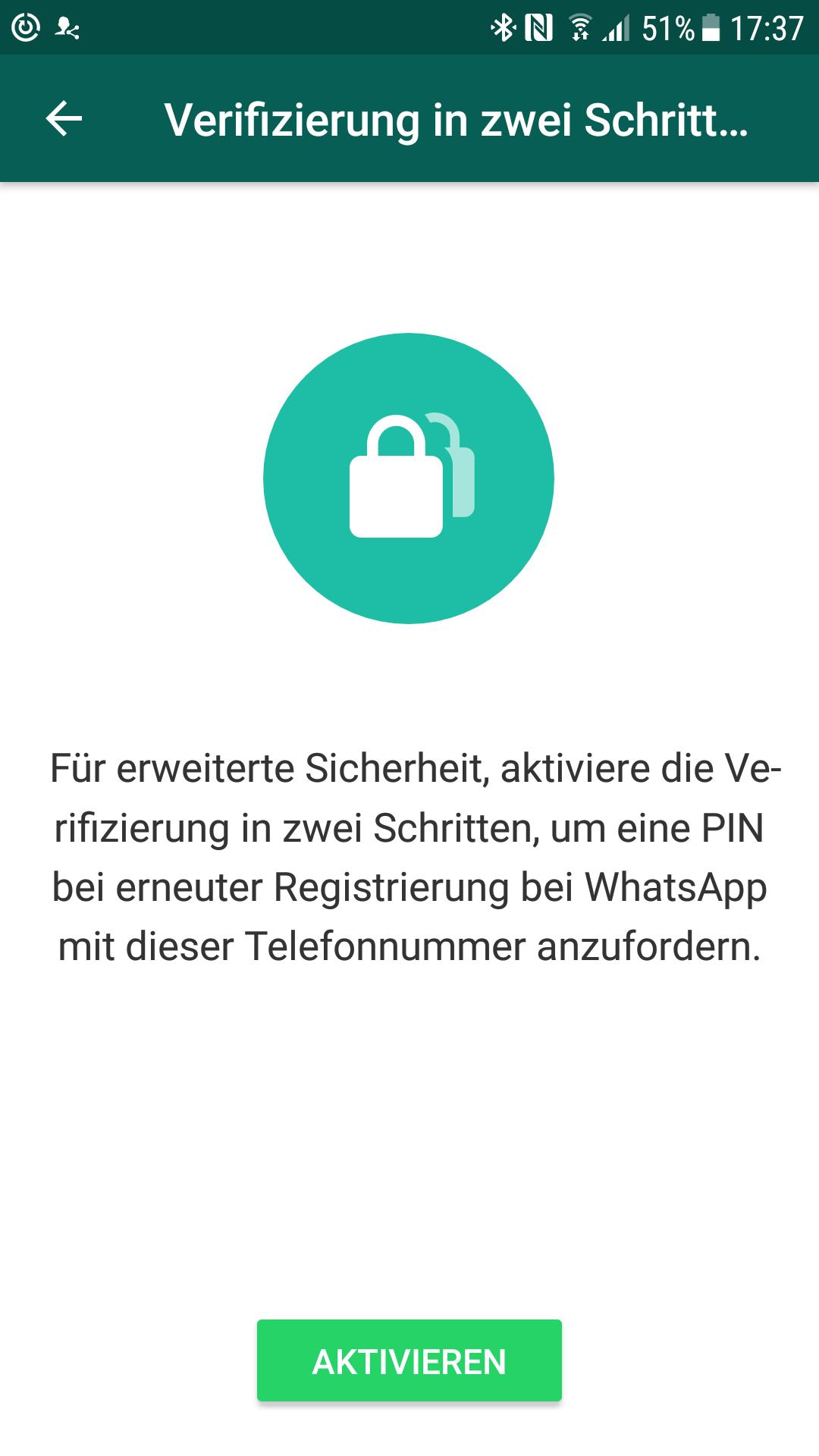 Zwei-Faktor-Authentifizierung für WhatsApp – Schutz vor fremdem Zugriff
