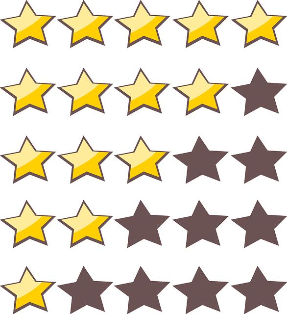 """Google Sterne Bewertung: Was kann man tun für die """"fünf gelben Sterne""""?"""