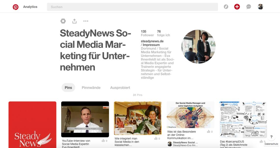 14 SEO-Tipps: Pinterest für Unternehmen nutzen