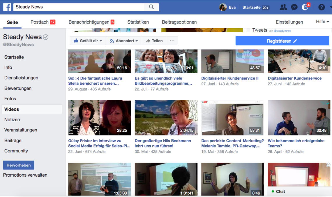 Video-Marketing: Facebook-Video oder YouTube-Video? Was lohnt sich mehr?
