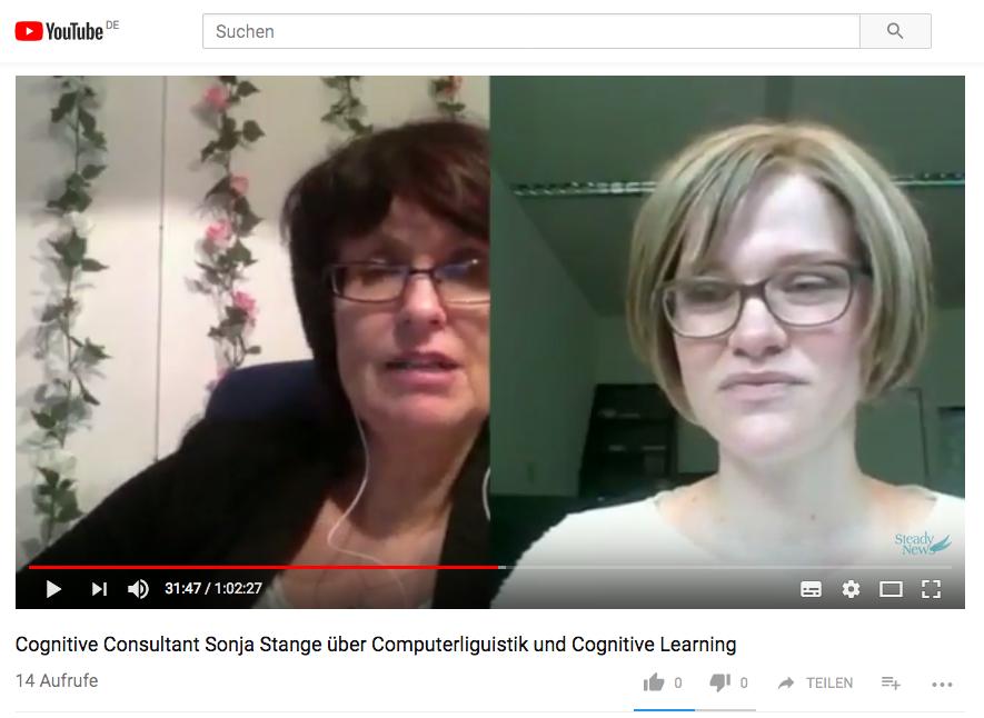 YouTube Interview mit der Computerlinguistin Sonja Stange: Wie KI menschliche Sprache lernt