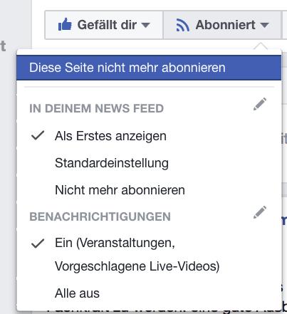 Facebook straft Fanpages ab, die um Markierungen, Kommentare, Shares bitten