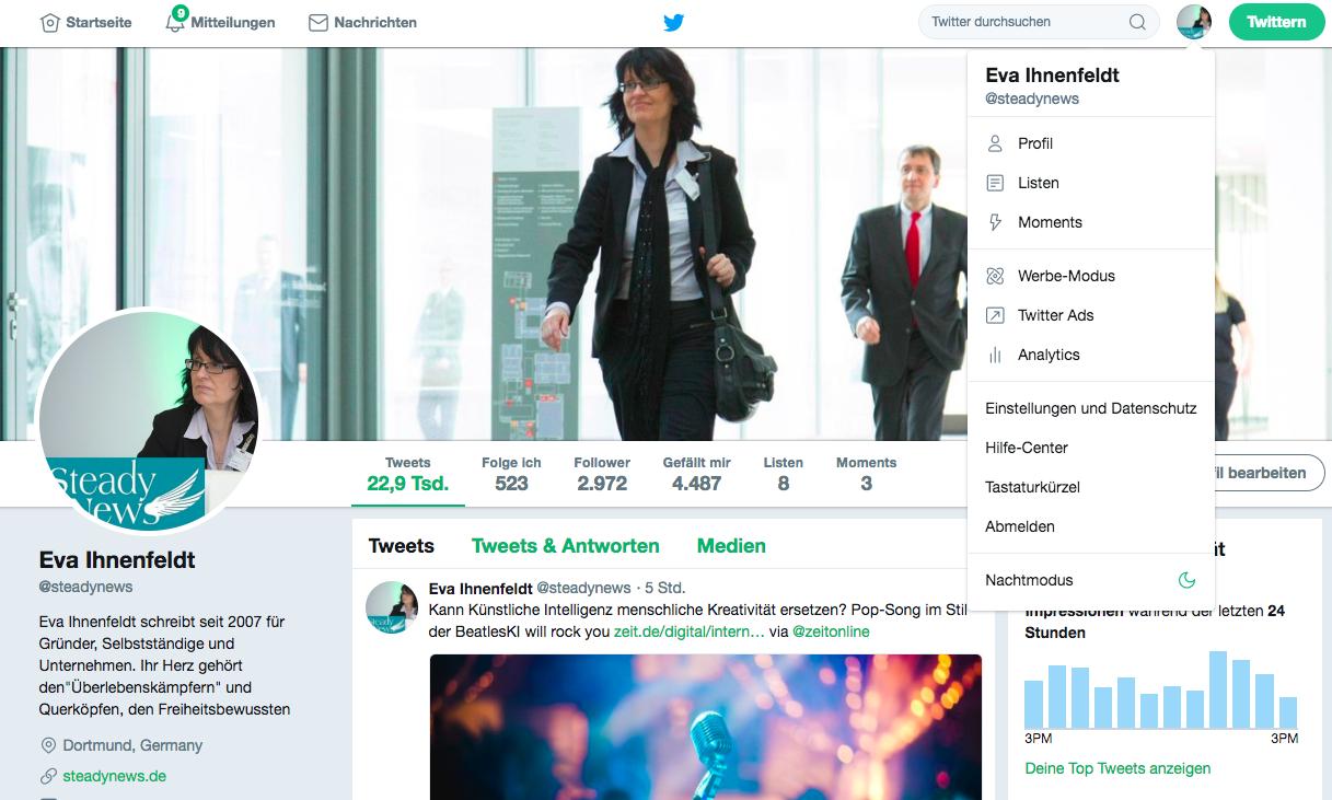 """Social Media """"Einfach tun"""": 9. Praktische Anleitung für Twitter"""