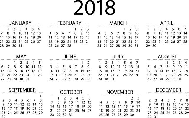 Social Media Redaktionsplan 2018 von t3n: Mit vielen Aktionstagen