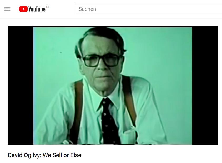 David Ogilvy: Die Geständnisse eines Werbemannes im digitalen Zeitalter