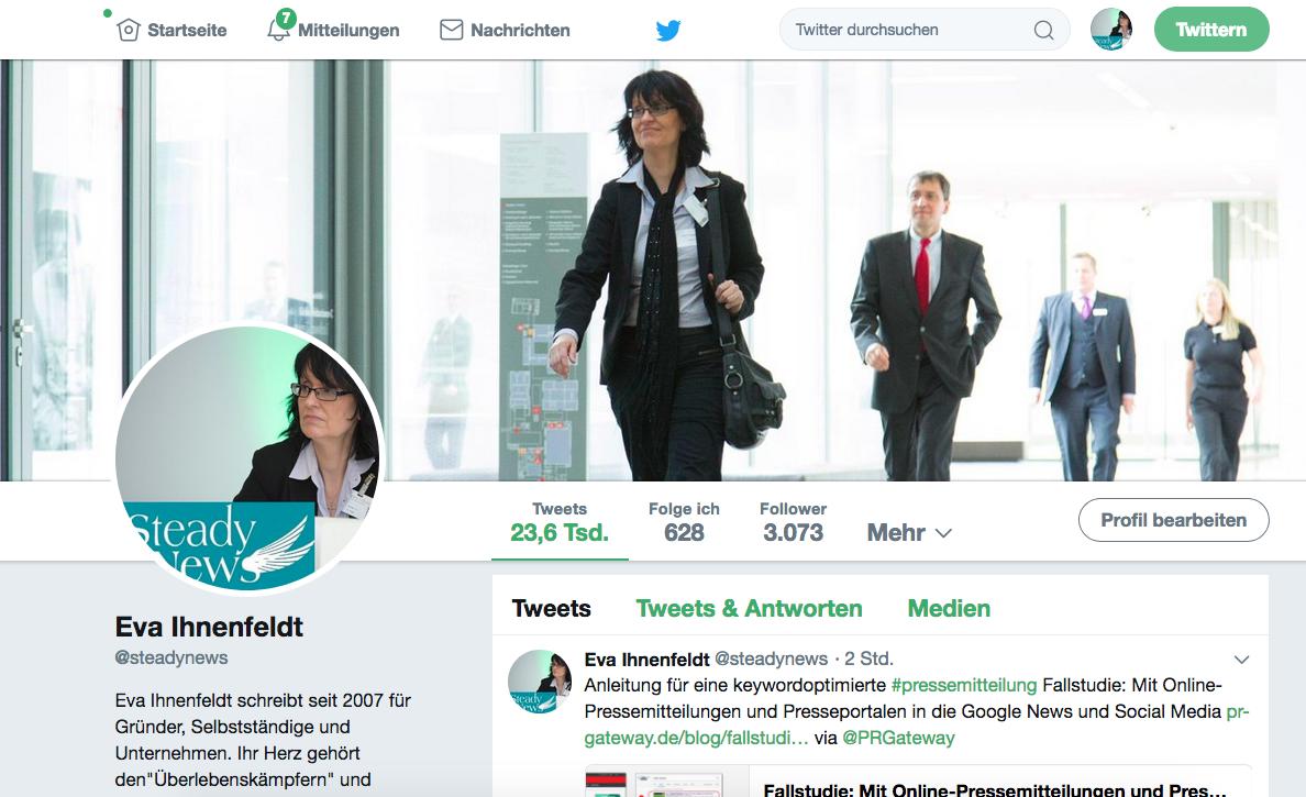 Twitter-Anleitung für Einsteiger