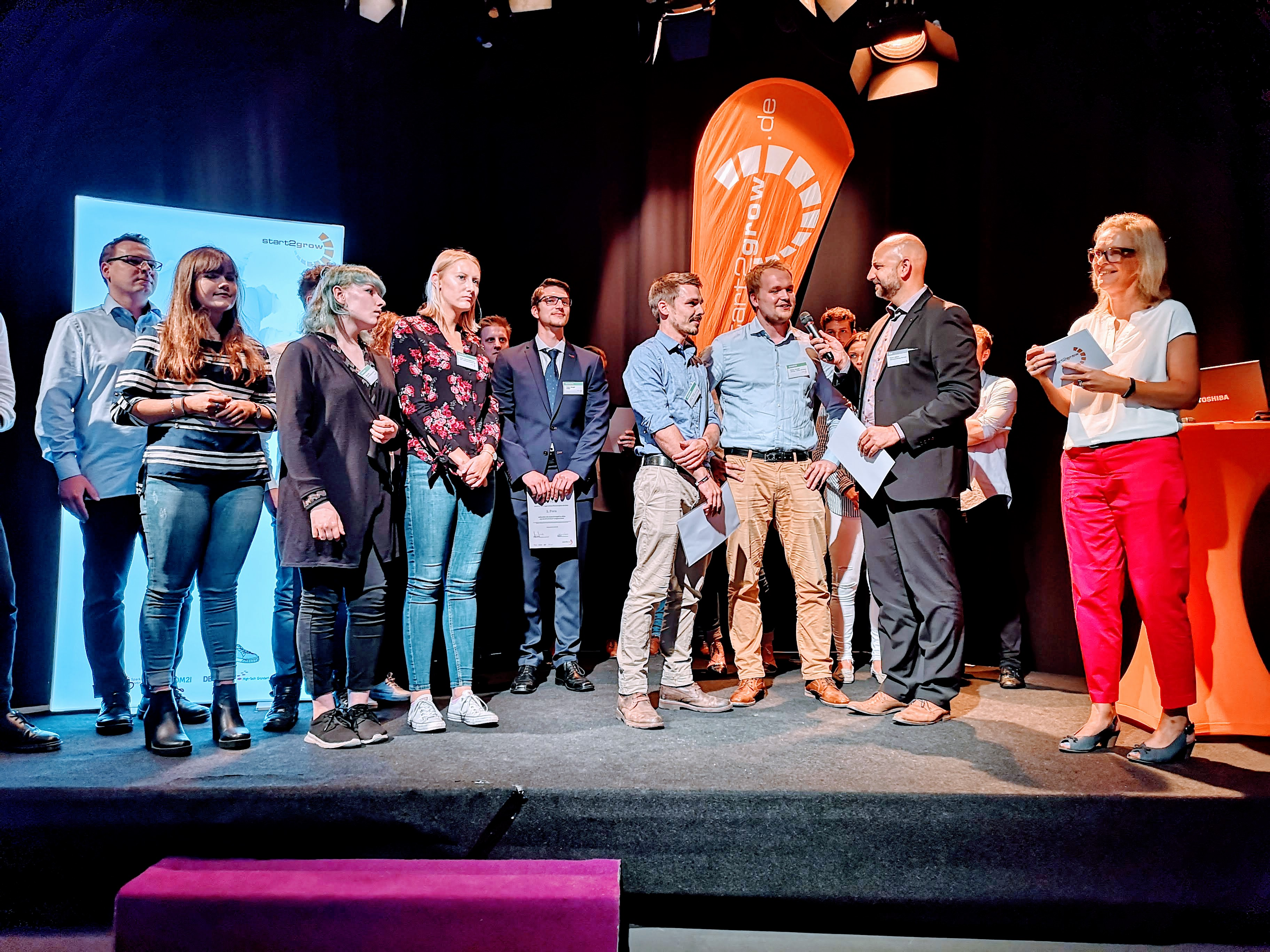 12. Juli 2018 bei Start2Grow 39: Die Gewinner des Gründer-Wettbewerbs