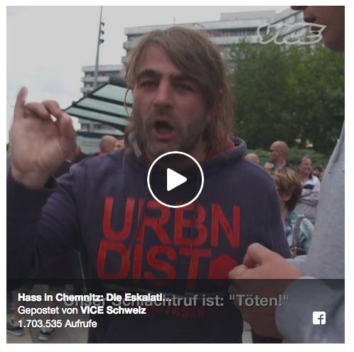 Chemnitz in Not: Hooligans und Kraftsport-Gyms nutzen Social Media für Gewaltaufrufe