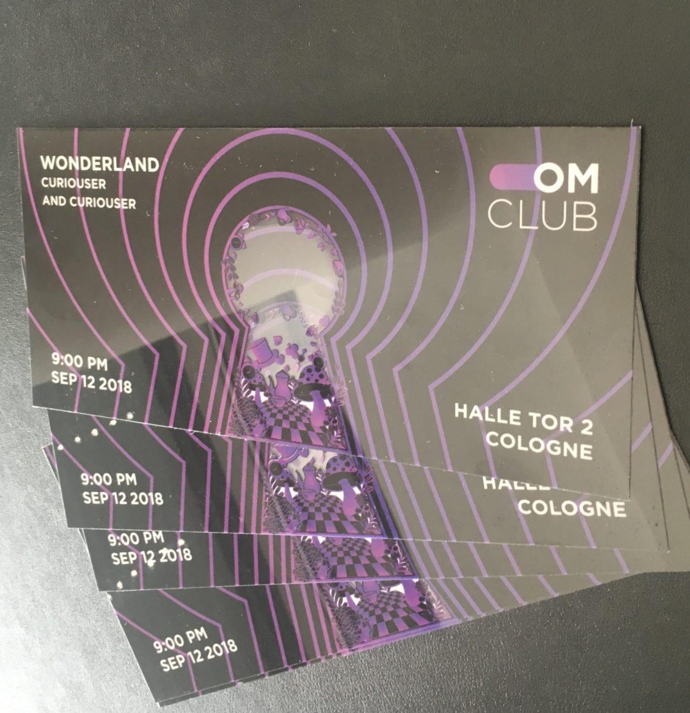 Dmexco 2018 – Marken-MEDIA verlost Freikarten für die beliebte OMClub Party am Eröffnungsabend