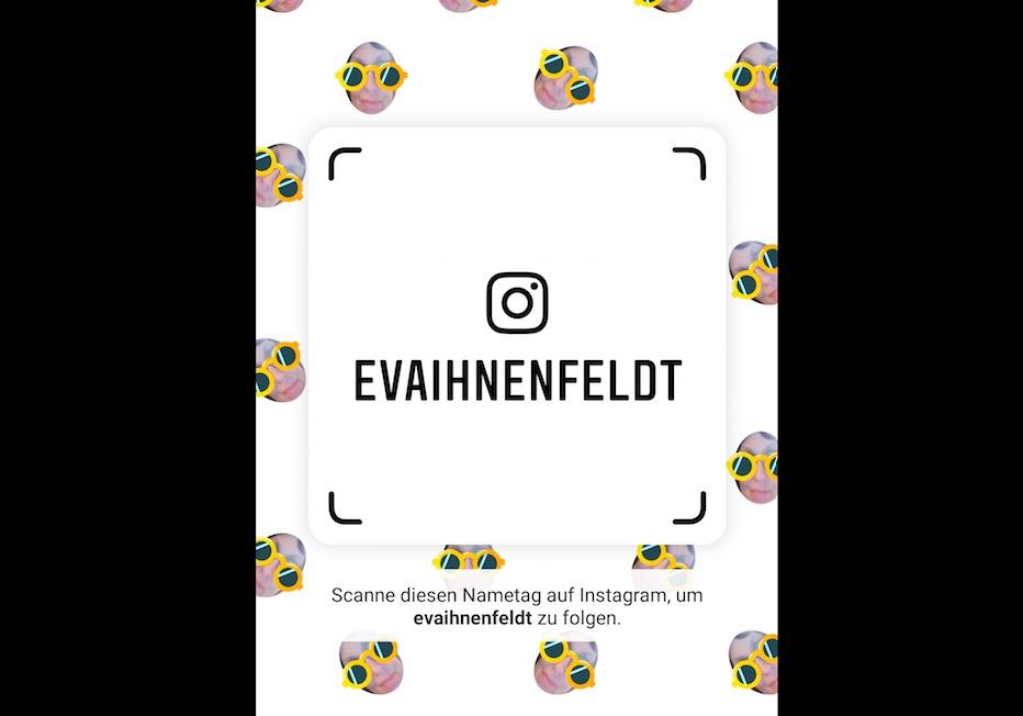 Neu bei Instagram: Mit dem Nametag Profile scannen – wie bei Snapchat