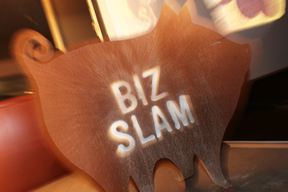 """14.11.18 in Bochum: BizSlam """"Erfolgreich gescheitert oder zufällig erfolgreich"""""""