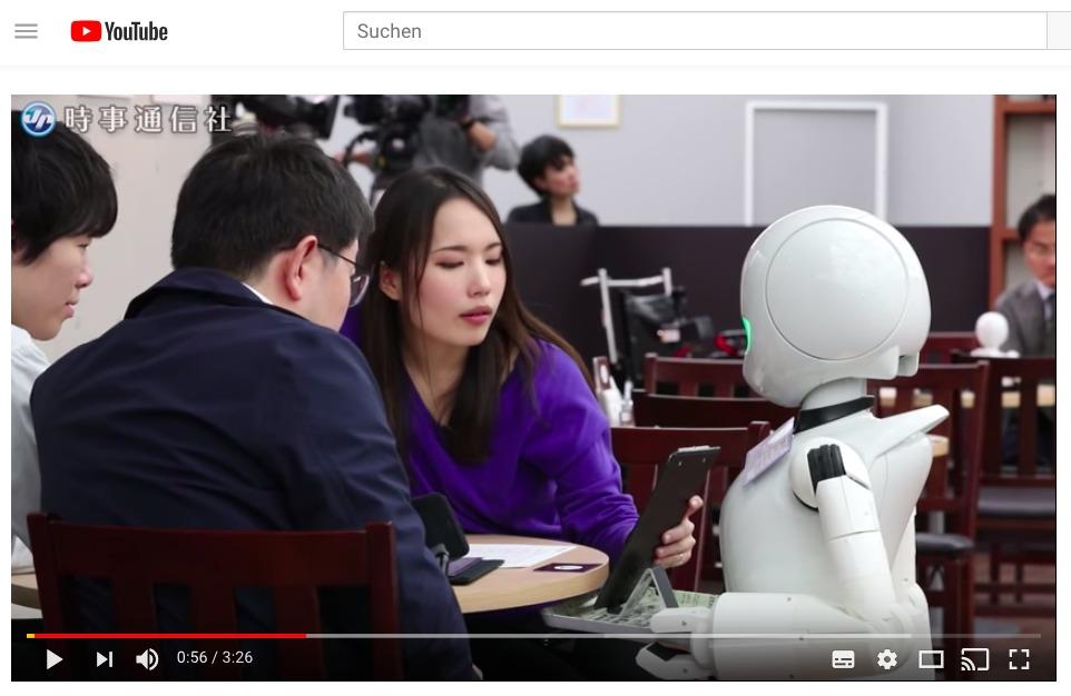 Wenn Gelähmte dank Robotor-Avatar als Kellner/in arbeiten können – gefällt mir!