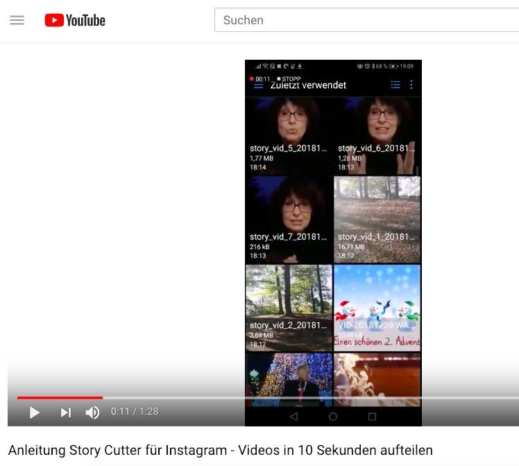 Lange Videos für Instagram Stories auf 15 Sekunden aufteilen: Hier eine Anleitung