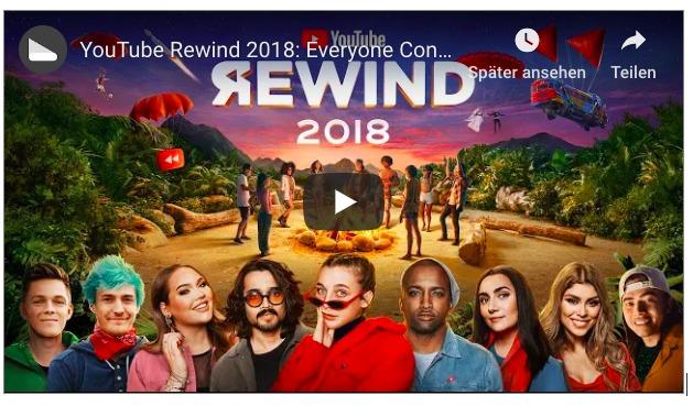 YouTube Jahresrückblick 2018: Weltweit unbeliebtestes YouTube-Video aller Zeiten
