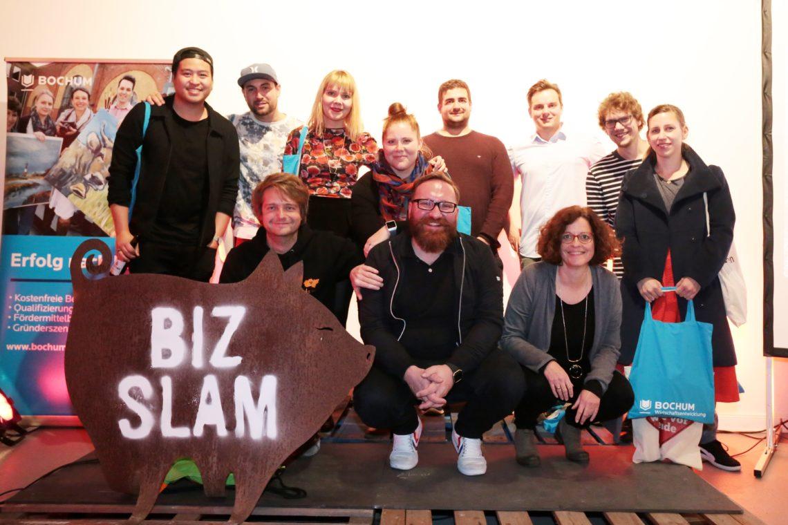 """10. April 2019: 8. BizSlam in Bochum – """"Erfolgreich gescheitert oder zufällig erfolgreich"""" – Unternehmer erzählen"""