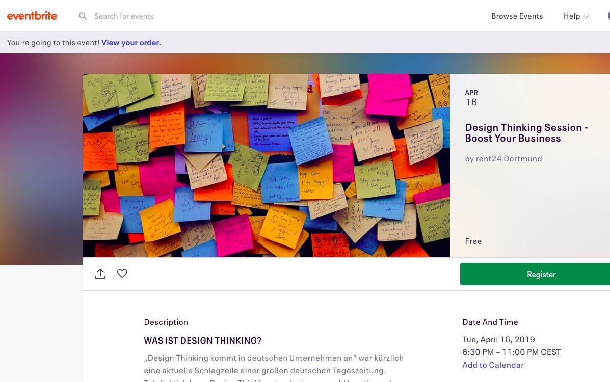 16.04.2019 in Dortmund: Design Thinking-Session mit Mehmet Karakus