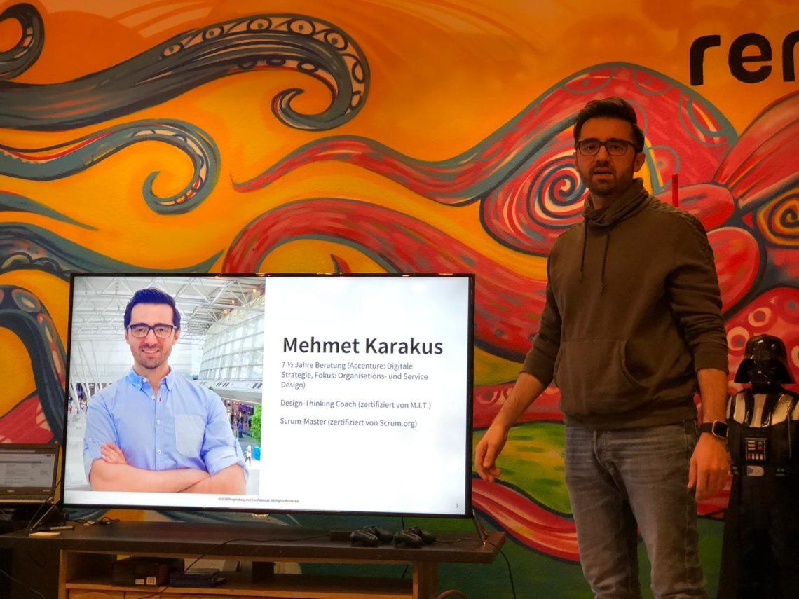 Design Thinking Workshop mit Mehmet Karakus – oder was in drei Stunden alles passieren kann…