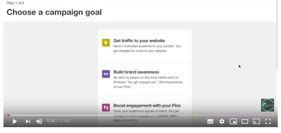 Werbeanzeigen bei Pinterest einstellen – Möglichkeiten und Video-Anleitung