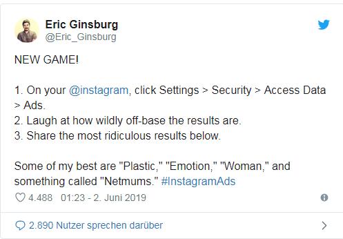 Anleitung: Wie kategorisiert Dich Instagram für personalisierte Werbung?