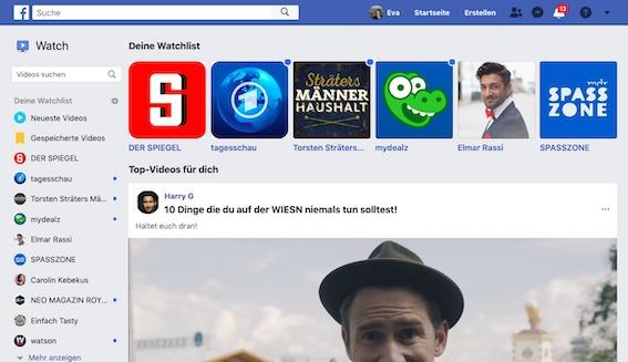 """Facebook Watch: Videos von Verlagen, News-Portalen. Beginnt nun das Zeitalter der personalisierten """"Volkszeitung"""""""