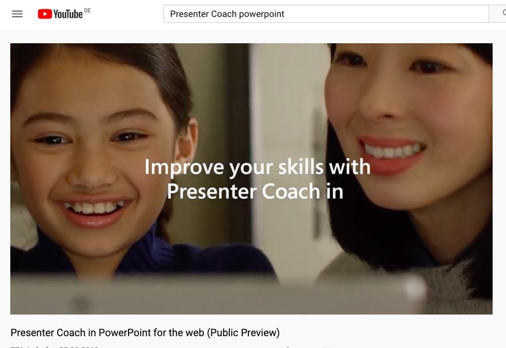 Der Microsoft Presenter Coach: Powerpoint Vorträge mit KI-Coach trainieren