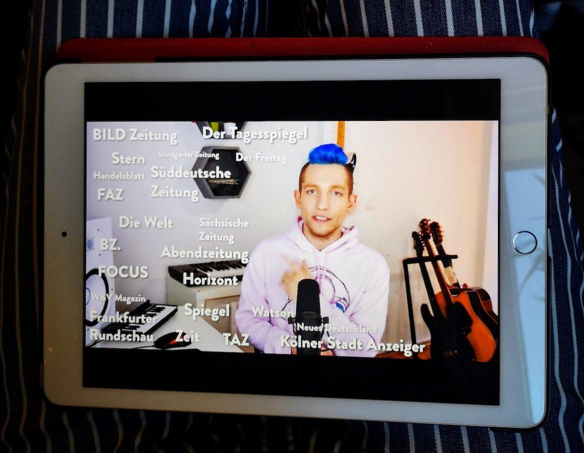 """Rezo: """"Die Zerstörung der Presse"""" bei YouTube. Absolut sehenswert!"""