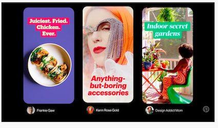 Neu bei Pinterest: Storytelling mit Story-Pins
