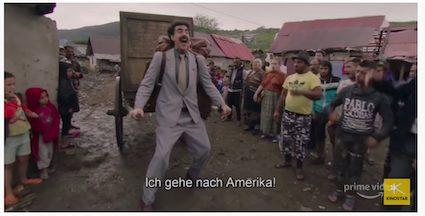 Aktueller Streaming-Tipp bei Amazon Prime: Borat2 und die US&A
