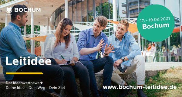 17. bis 19.09.21 in Bochum: Leitidee – Der Ideenwettbewerb