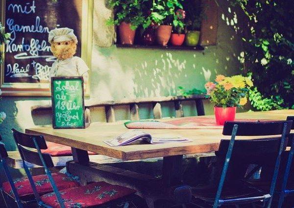 Werbung in der Gastronomie – Tischaufsteller