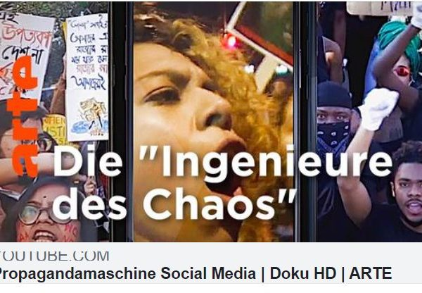 ARTE Doku: Die politische Propagandamaschine Social Media